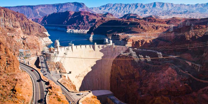 Hoover Dam view