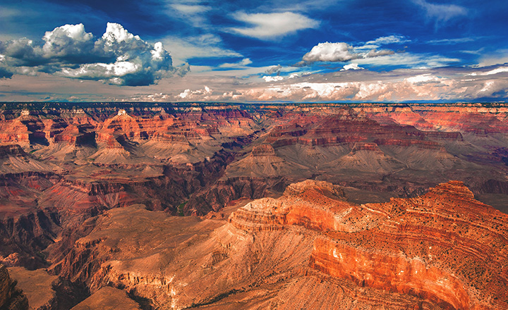 huge grand canyon national park south rim photo