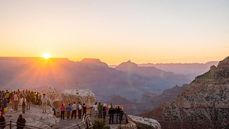 Grand Canyon South Rim Tours Attract 5 Million Visitors Annually