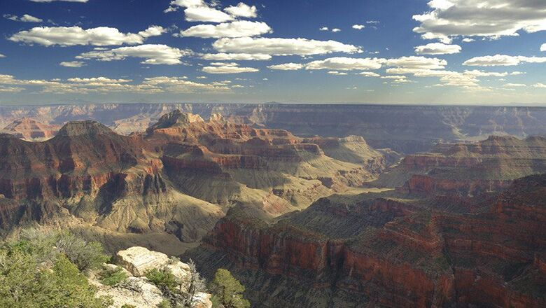 Grand Canyon Tours Often Begin At The South Rim
