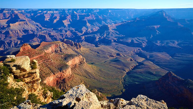 Explore The South Rim By Taking One Of The Tours In Grand Canyon National Park