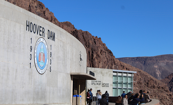 Las Vegas Hoover Dam tour exhibits