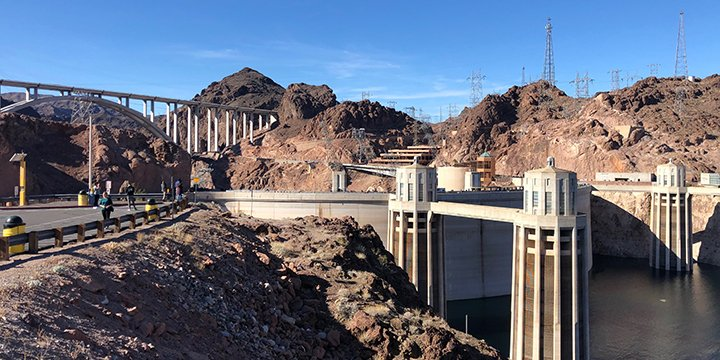 Grand Canyon tours and Hoover Dam tours from Las Vegas take you to the Hoover Dam