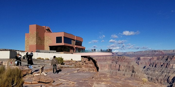 The Grand Canyon Skywalk.
