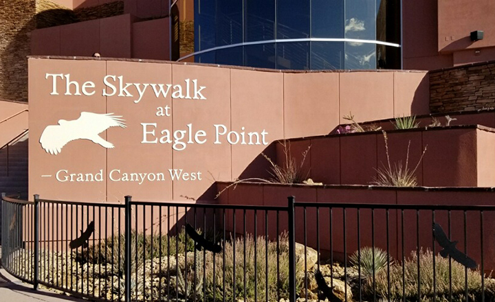 The Skywalk Bridge at Grand Canyon West is a site many want to see on Las Vegas Grand Canyon tours.
