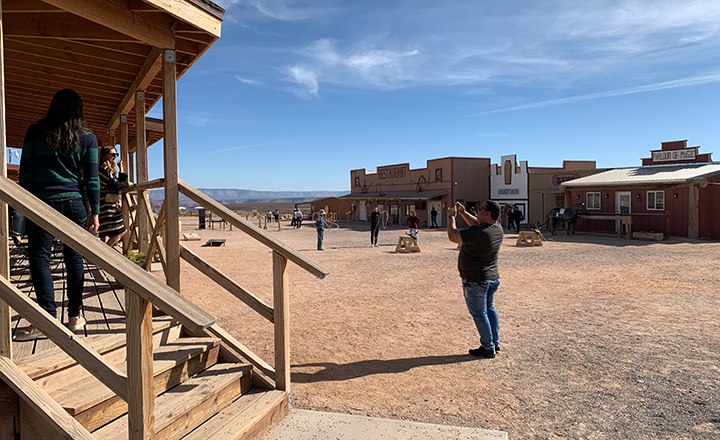 Hualapai Ranch at Grand Canyon West is a fun immersive wild west experience for Grand Canyon visitors.