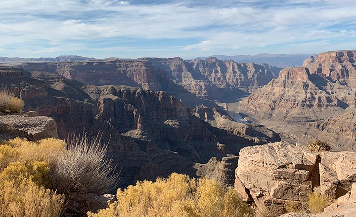 Grand Canyon Las Vegas tours offer incredible views of the Grand Canyon and Colorado River.