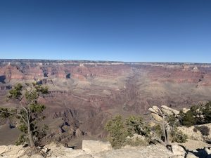 View into the South Rim seen on Grand Canyon tours