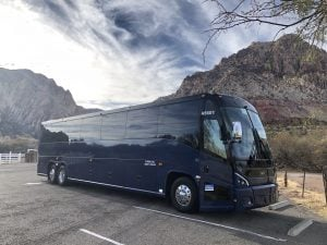 A Grand Canyon tour bus
